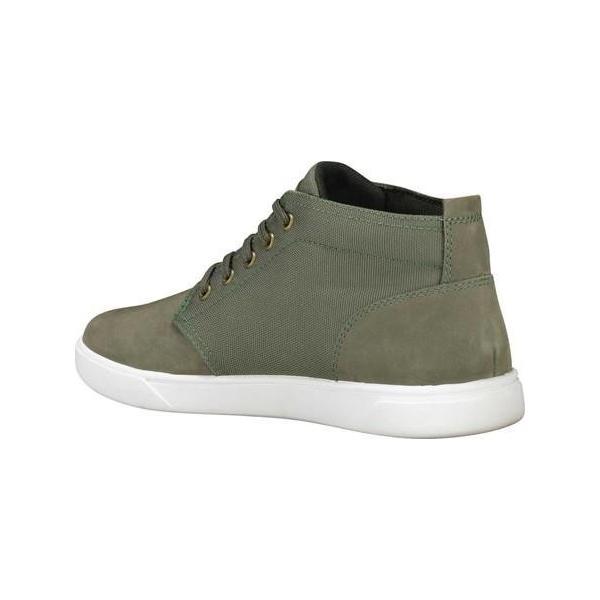 ユニセックス シャツ トップス Timberland Groveton Plain Toe Leather and Fabric Chukka (Men's) sneakersuppliers 03