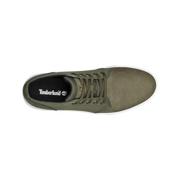 ユニセックス シャツ トップス Timberland Groveton Plain Toe Leather and Fabric Chukka (Men's) sneakersuppliers 04
