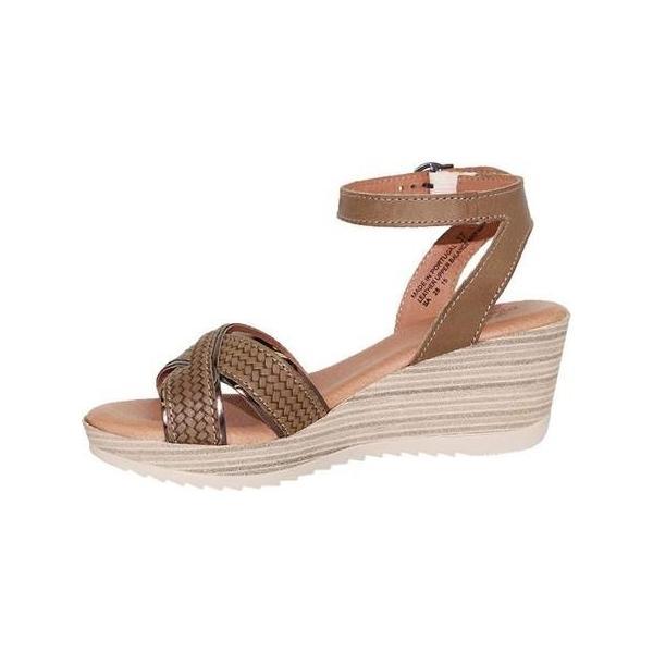 レディース サンダル Dromedaris Lucy Quarter Strap Sandal (Women's)