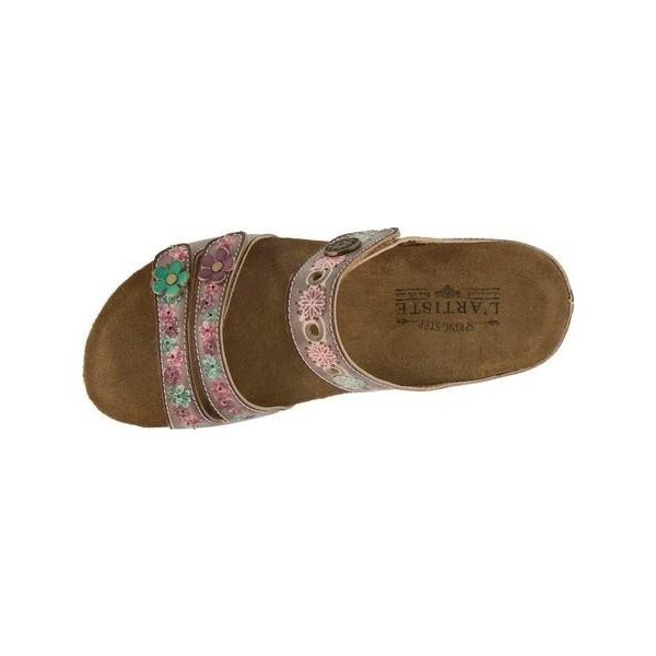 レディース サンダル L'Artiste by Spring Step Freesia Slide (Women's)
