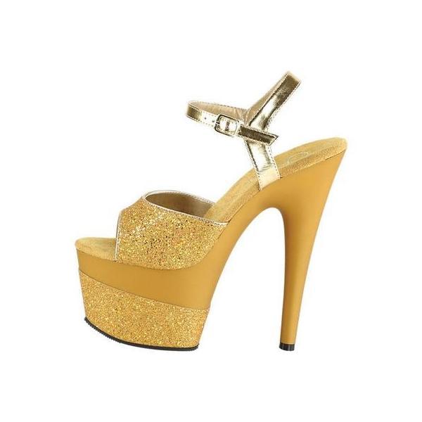 レディース サンダル Pleaser Adore 709-2G Ankle Strap Sandal (Women's)