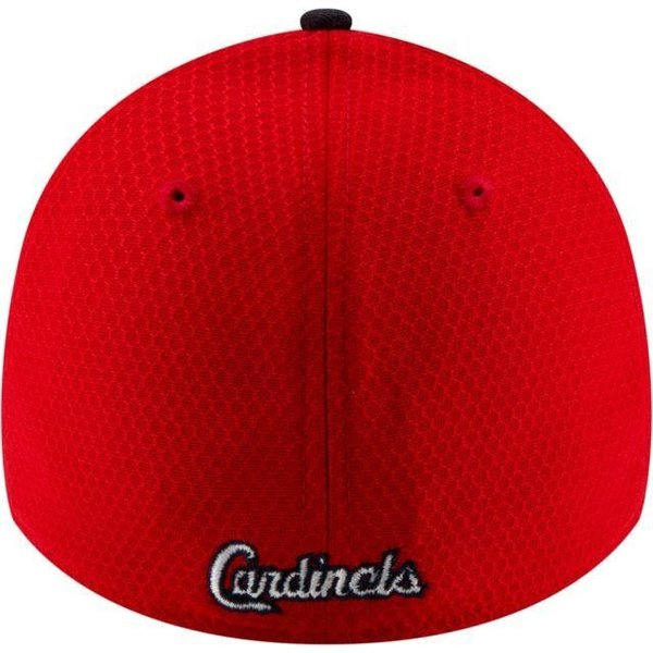 ニューエラ メンズ 帽子 キャップ Men's St. Louis Cardinals 39Thirty HexTech Batting Practice Stretch Fit Hat|sneakersuppliers|04
