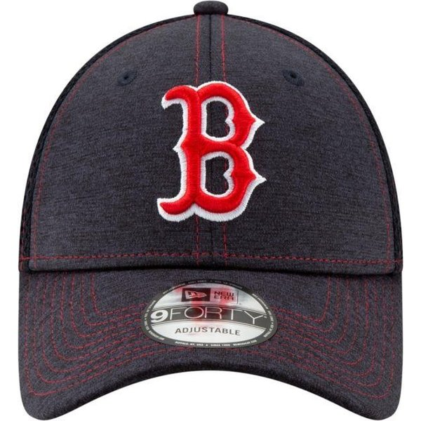ニューエラ ユニセックス 帽子 キャップ Youth Boston Red Sox 9Forty Team Tread Adjustable Hat|sneakersuppliers|02