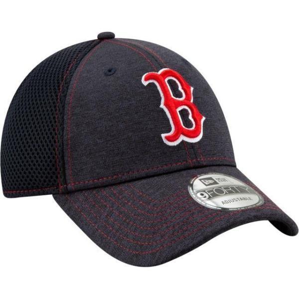 ニューエラ ユニセックス 帽子 キャップ Youth Boston Red Sox 9Forty Team Tread Adjustable Hat|sneakersuppliers|03
