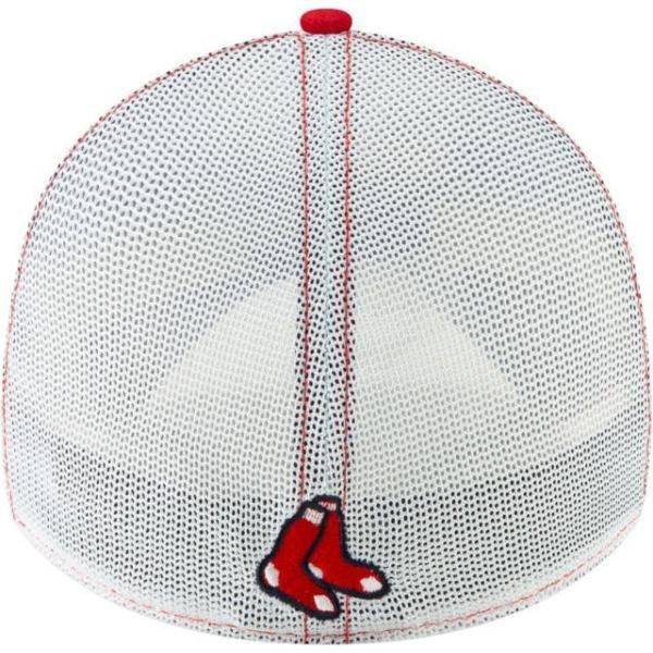 ニューエラ メンズ 帽子 キャップ Men's Boston Red Sox 39Thirty Practice Piece Stretch Fit Hat|sneakersuppliers|04