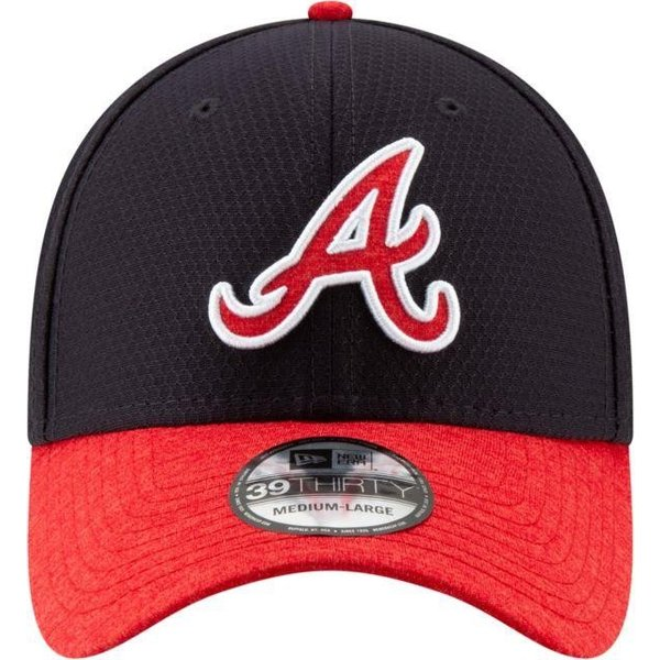 ニューエラ ユニセックス 帽子 キャップ Youth Atlanta Braves 39Thirty Pop Shadow Stretch Fit Hat|sneakersuppliers|02