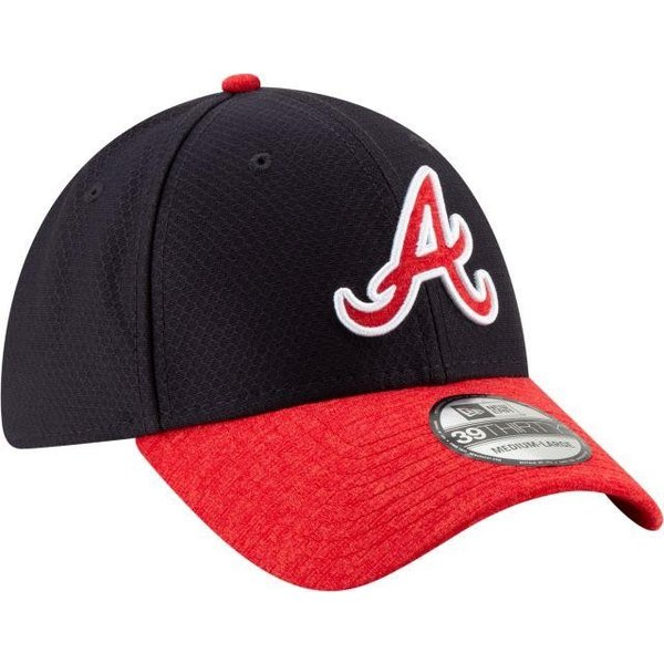ニューエラ ユニセックス 帽子 キャップ Youth Atlanta Braves 39Thirty Pop Shadow Stretch Fit Hat|sneakersuppliers|03