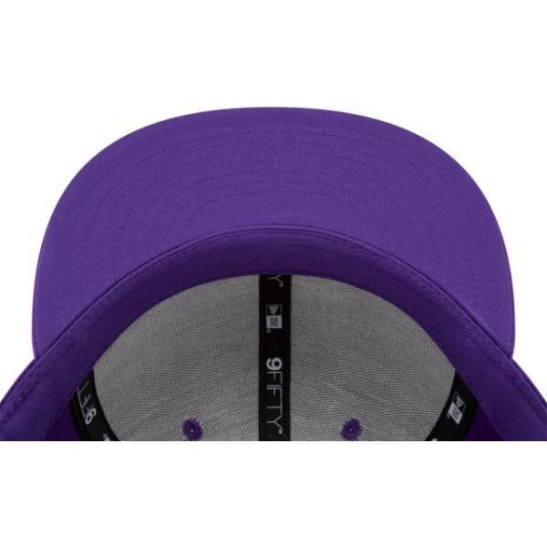 ニューエラ メンズ 帽子 キャップ Men's Los Angeles Lakers 9Fifty City Edition Adjustable Snapback Hat|sneakersuppliers|05