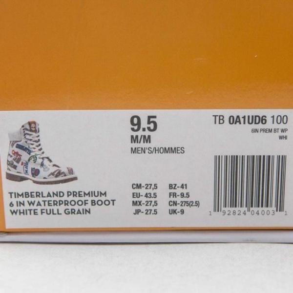 ユニセックス スニーカー シューズ Timberland x Mitchell and Ness NBA Men 6 Inch Boot (white / action leather)|sneakersuppliers|06