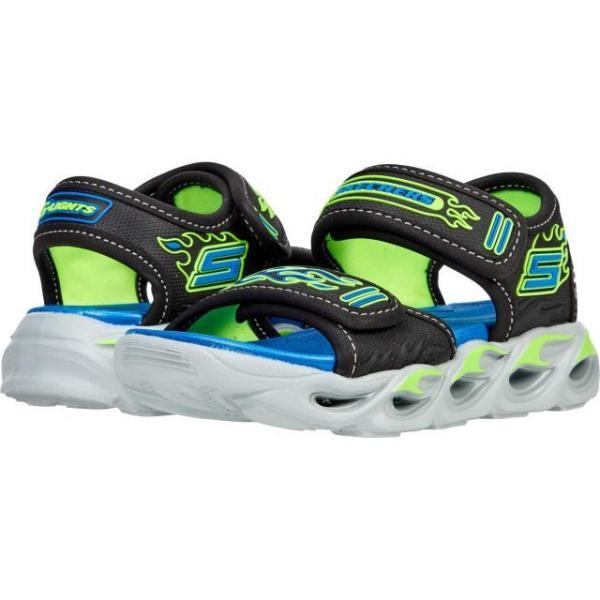 スケッチャーズ ボーイズ サンダル Sport Lighted Sandal - Thermo-Splash 400109L (Little Kid/Big Kid)