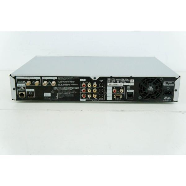 中古 SONYソニー デジタルハイビジョンチューナー内蔵DVDレコーダー スゴ録 地デジ対応 HDD250GB内蔵 RDZ-D700