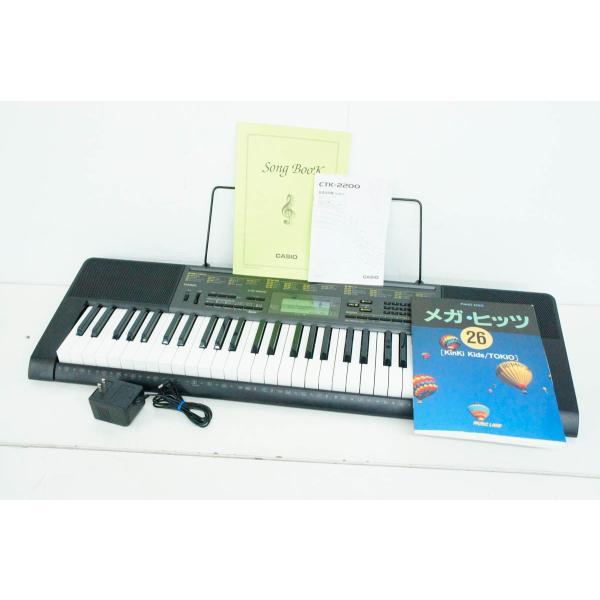 中古 カシオCASIO ベーシックキーボード 電子キーボード 61鍵 CTK-2200