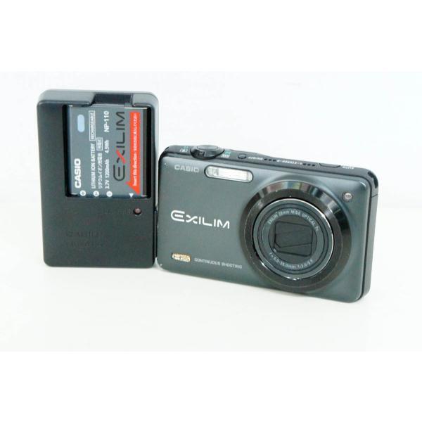 中古 C CASIOカシオ コンパクトデジタルカメラ EXILIMエクシリム 1210万画素 EX-ZR10
