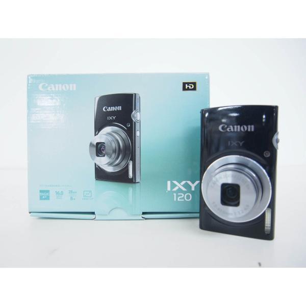 中古 Canonキャノン コンパクトデジタルカメラ IXYイクシー 1600万画素 IXY 120 BK