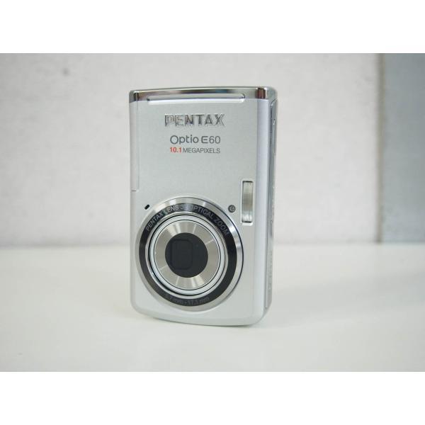 中古美品 RICOHリコー PENTAXペンタックス コンパクトデジタルカメラ Optio E60