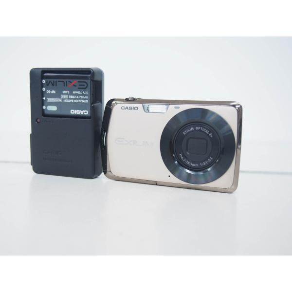中古 CASIOカシオ コンパクトデジタルカメラ EXILIM エクシリム 1210万画素 EX-Z330GD ゴールド