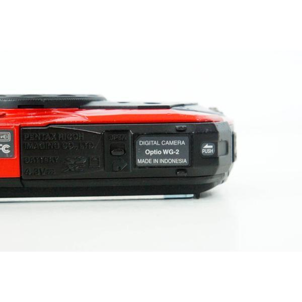 中古 PENTAXペンタックス コンパクトデジタルカメラ Optioオプティオ WG-2