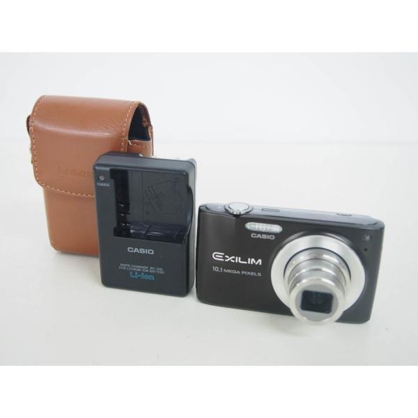 中古 CASIOカシオ コンパクトデジタルカメラ EXILIM ZOOM エクシリム EX-Z300BN