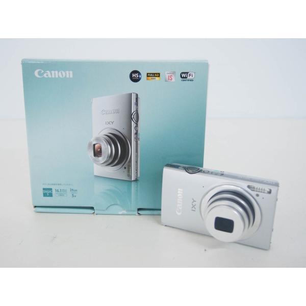 中古 Canonキャノン コンパクトデジタルカメラ IXYイクシー 1610万画素 IXY 430F シルバー