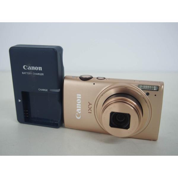 中古 Canonキャノン コンパクトデジタルカメラ IXYイクシー 1210万画素 IXY 610F GL ゴールド