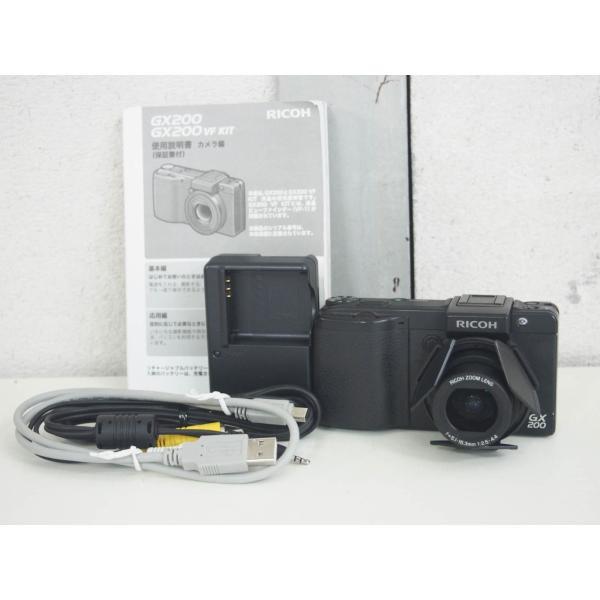 【中古】RICOHリコー コンパクトデジタルカメラ GX200