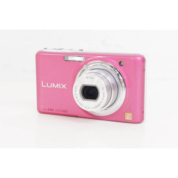 中古 Panasonicパナソニック コンパクトデジタルカメラ LUMIXルミックス 1210万画素 DMC-FX77
