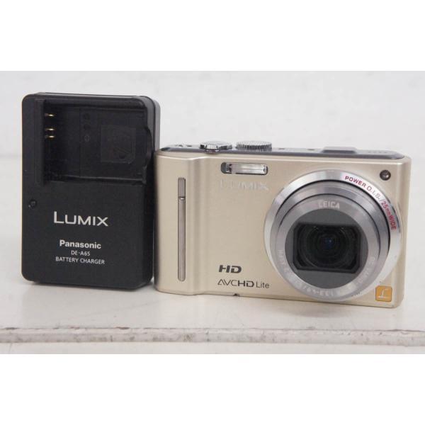 中古 Panasonicパナソニック コンパクトデジタルカメラ LUMIXルミックス 1210万画素 DMC-TZ10