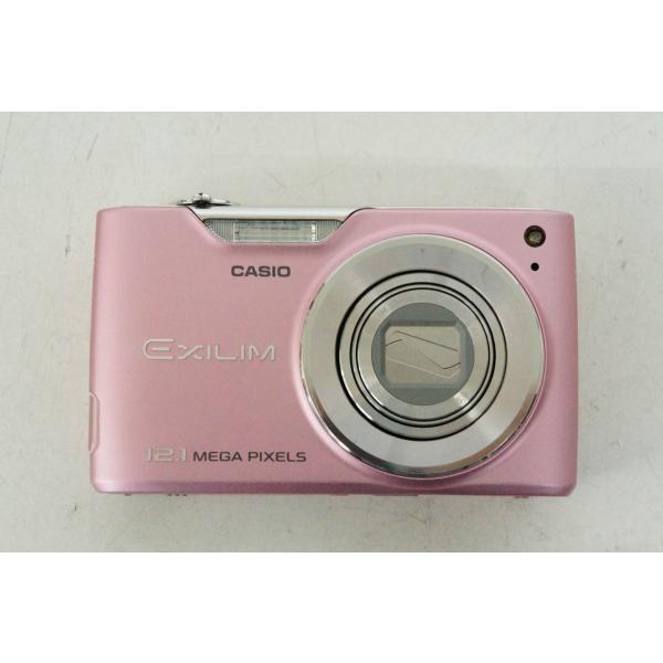 中古 C CASIOカシオ コンパクトデジタルカメラ EXILIM ZOOM エクシリム 1210万画素 EX-Z450PK ピンク