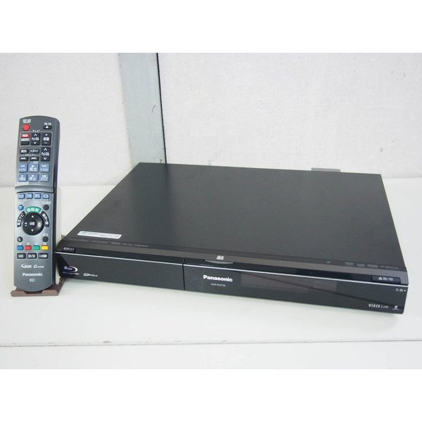 中古 Panasonicパナソニック DIGA ブルーレイディーガ ハイビジョンブルーレイディスクレコーダー DMR-BW700-K HDD250GB