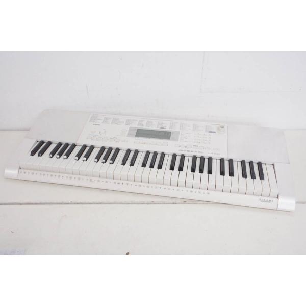 中古CASIOカシオ光ナビゲーションキーボードLK-221電子キーボード61鍵