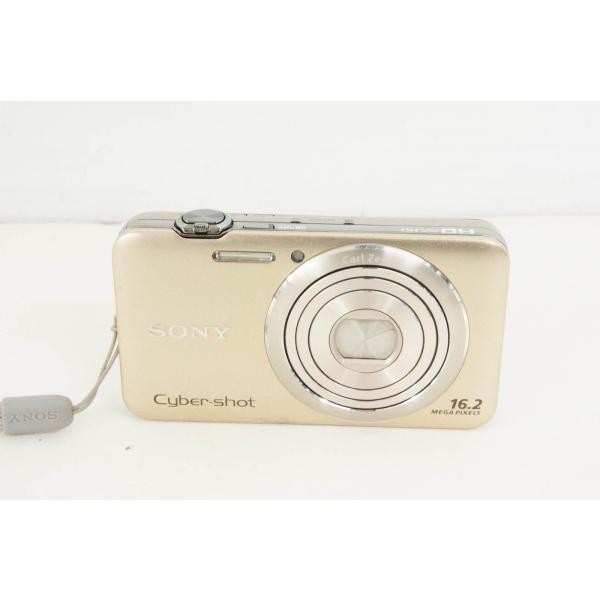 中古 SONYソニー コンパクトデジタルカメラ Cyber-shotサイバーショット NC 1620万画素 DSC-WX30 ゴールド
