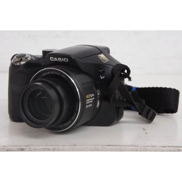 中古 CASIOカシオ コンパクトデジタルカメラ HIGH SPEED EXILIMエクシリム EX-FH20 乾電池駆動