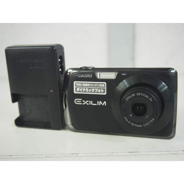中古 CASIOカシオ コンパクトデジタルカメラ EXILIM エクシリム 1210万画素 EX-Z330BK ブラック