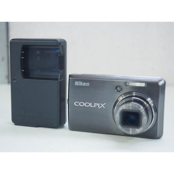 【中古】ニコンNIKON コンパクトデジタルカメラ COOLPIXクールピクス 1000万画素 S600 アーバンブラック