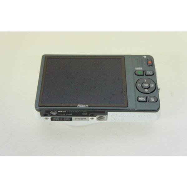 中古 ニコンNIKON コンパクトデジタルカメラ COOLPIXクールピクス 1602万画素 S6500 WH ナチュラルホワイト