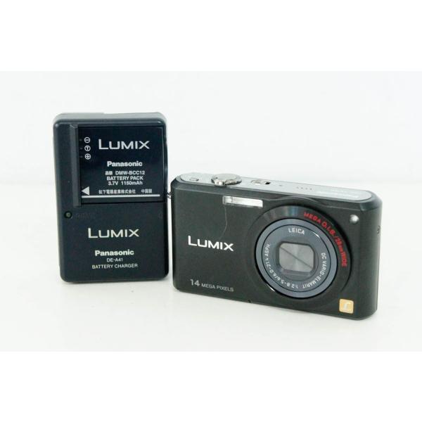 中古 Panasonicパナソニック コンパクトデジタルカメラ LUMIXルミックス 1470万画素 DMC-FX150 ブラック