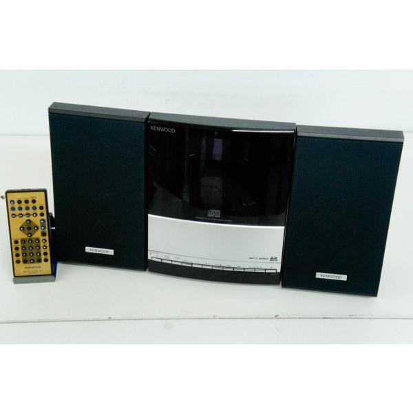 中古 KENWOODケンウッド コンパクトHi-Fiシステム iPod/CD/USB/SD C-IP313 ミニコンポ オーディオ