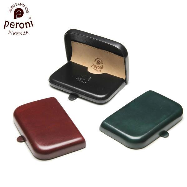 正規輸入品PeroniFirenzeペローニ名刺入れカードケース本革メンズレディース1428