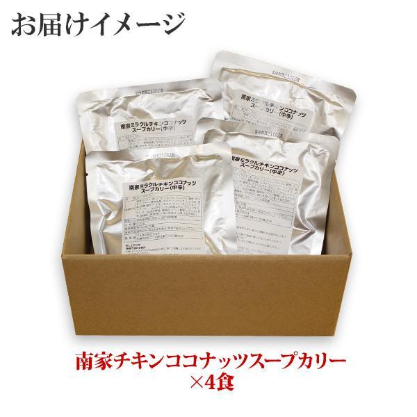 スープカレー レトルト 業務用 北海道 ご当地カレー 南家 ココナッツ 4食セット お取り寄せ ギフト|snowland|04