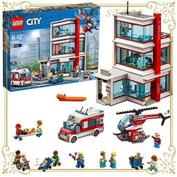 レゴ(LEGO)シティ レゴ(R)シティ病院 60204 ブロック おもちゃ 男の子|so-store