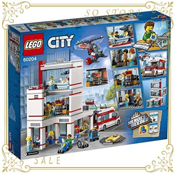 レゴ(LEGO)シティ レゴ(R)シティ病院 60204 ブロック おもちゃ 男の子|so-store|03