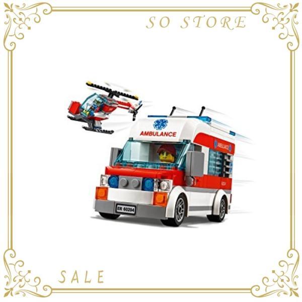 レゴ(LEGO)シティ レゴ(R)シティ病院 60204 ブロック おもちゃ 男の子|so-store|04