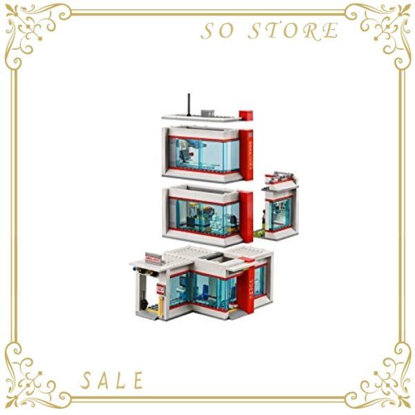 レゴ(LEGO)シティ レゴ(R)シティ病院 60204 ブロック おもちゃ 男の子|so-store|05