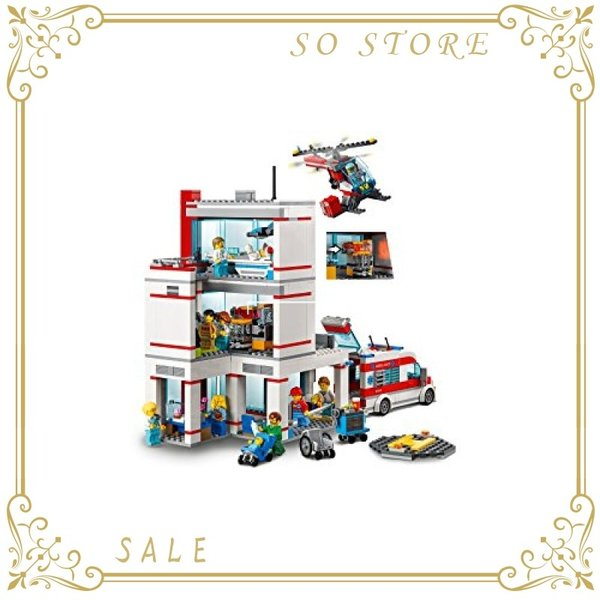 レゴ(LEGO)シティ レゴ(R)シティ病院 60204 ブロック おもちゃ 男の子|so-store|06