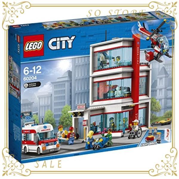 レゴ(LEGO)シティ レゴ(R)シティ病院 60204 ブロック おもちゃ 男の子|so-store|07