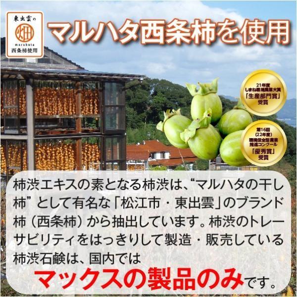 柿のさち KnS 薬用柿渋ボディソープ 詰替パウチ|soapmax|03