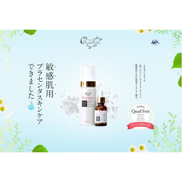 肌楽 プラセンタ 洗顔フォーム 150mL HR-PF|soapmax|02