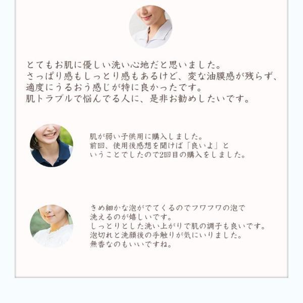 洗顔 せっけん 素あわ 固形石鹸 80g 乾燥肌 敏感肌 医薬部外品|soapmax|15