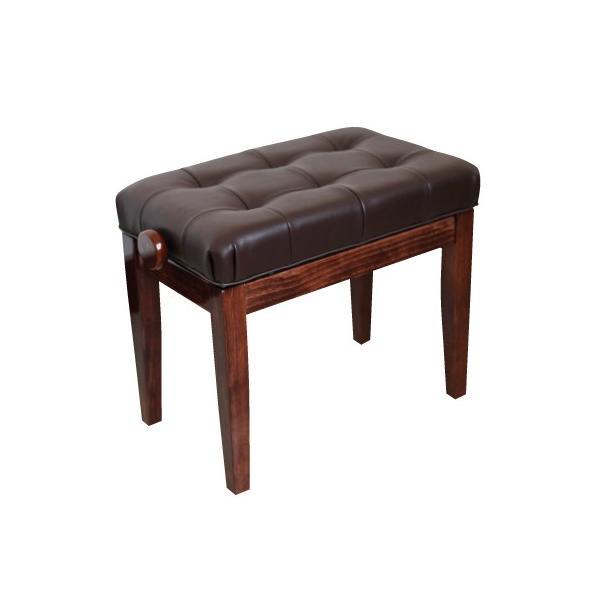 KIKUTANI キクタニ ピアノ椅子 ブラウン Piano Bench FS-201QZJ BRO ピアノベンチ 茶色 イス ピアノ用|soarsound