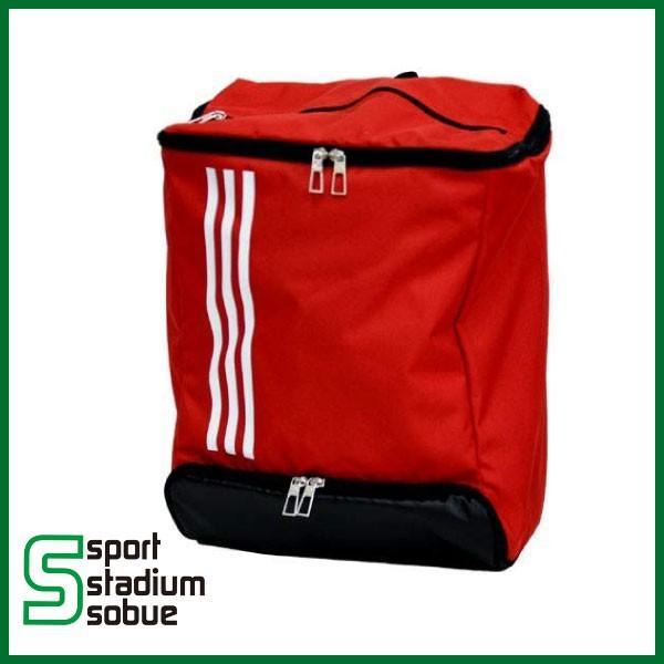 adidas(アディダス) ボール用デイバッグ (24L) ADP29BKR (RED/BLK) サッカー フットサル ハンドボール ボールケース リュック